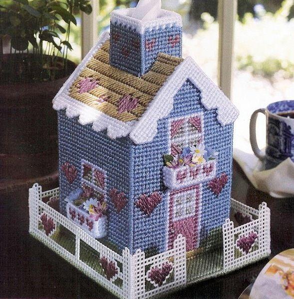 Veranda cottage with pattern