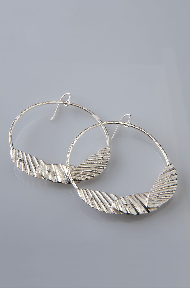 Lucy Folk presents SEAFOOD - 2010 - SCALLOP SHELL EARRINGS
