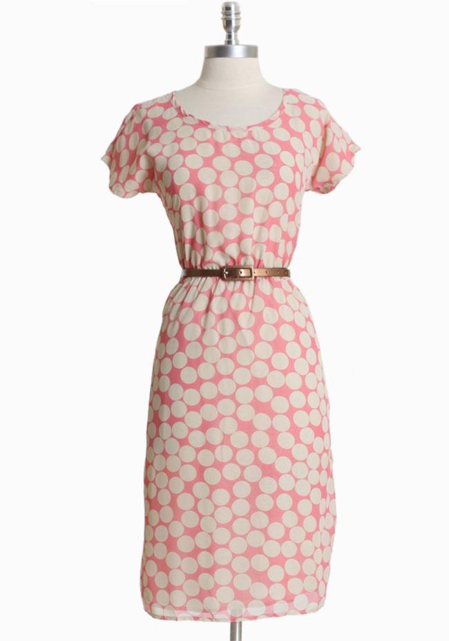 Polka Dot Chic Dress