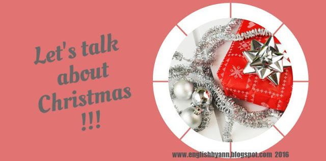English by Ann: Christmas Speaking