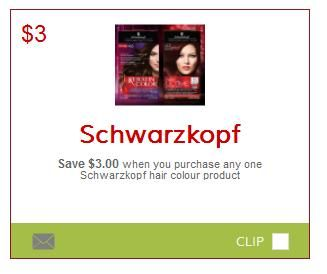 Save $3 On Schwarzkopf Hair Colour - Printable Coupon - hair-colour http://www.groceryalerts.ca/save-3-schwarzkopf-hair-colour-printable-coupon/