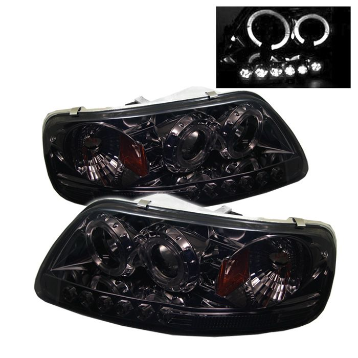 This Spyder Auto HeadLight fits Ford F-150 for the following years: 1997, 1998, 1999, 2000, 2001, 2002, 2003. Get proper fitment, easy installation and quality HeadLights for your Ford. Transform your F-150 for the ultimate driving experience.AutoLightPros is backed by a Manufacturer's Warranty and offers safe and secure shipping. You w...