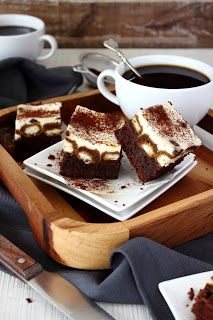 Tiramisu brownies (Zoet & Verleidelijk)
