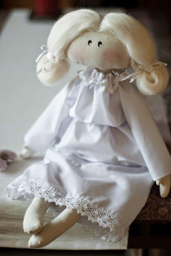 One of my Tilda dolls. I love sewing them.