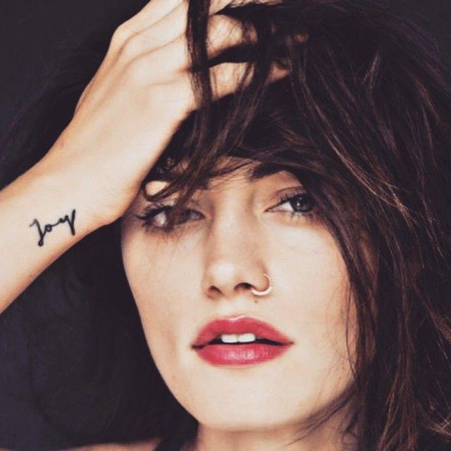 """""""New blog post // Phoebe Tonkin. #tattoo #Tattoologist #tattoologistofficial #joy"""""""