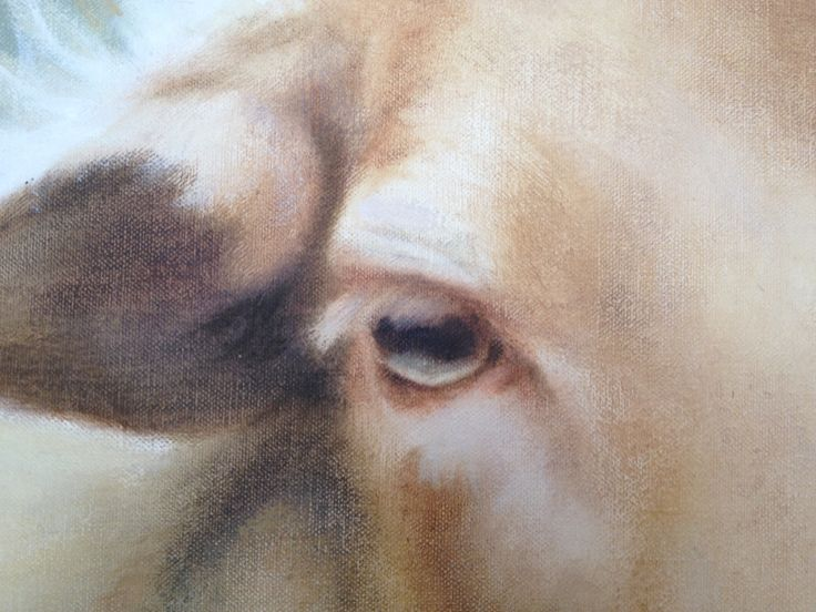 detail of painting by Patty van Loon