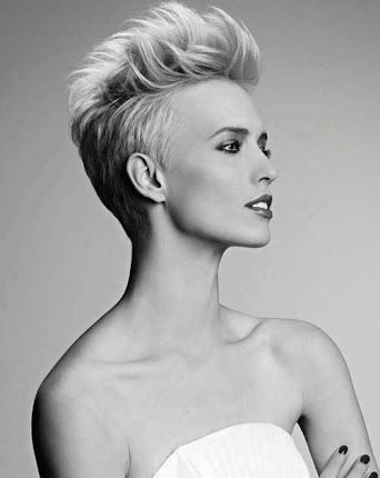 funky undercut hairstyles for curly brief hair ladies – Google Search