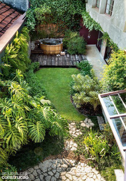 Zeitgenössische Gartenideen # Garten #Gartenideen #contemporary