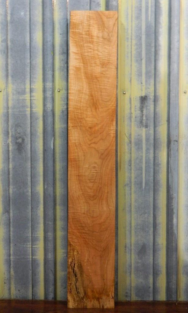 Fiddleback Figured Maple Lumber Slab/1.5x7.5x48/Reclaimed/Salvaged Wood 728 | Lumber | Figured Black Walnut Lumber, Live Edge Furniture, Spalted Maple Slabs, Gunstock Blanks, Bookmatched Dining Table Top Sets, Bar Countertops, Natural Edge Burl Wood, The Lumber Shack
