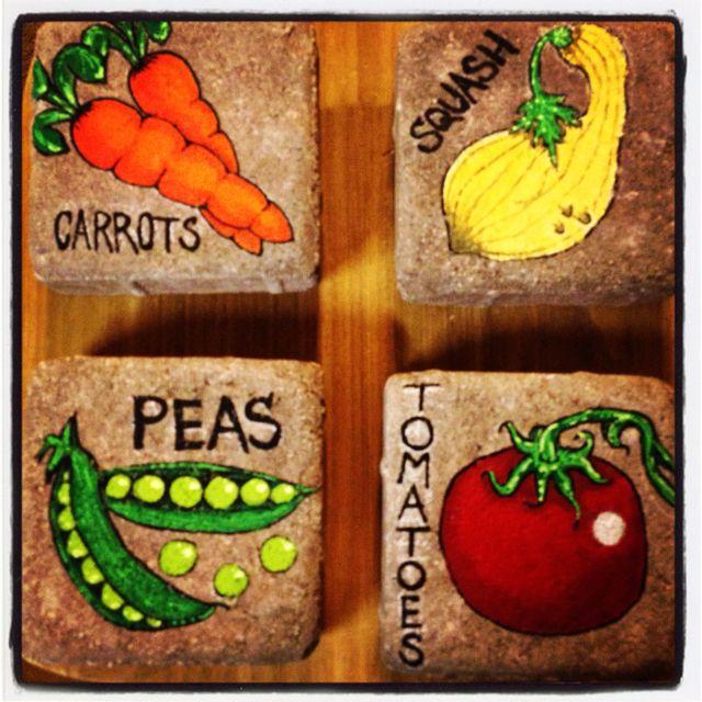 Best 25+ Garden Markers Ideas On Pinterest
