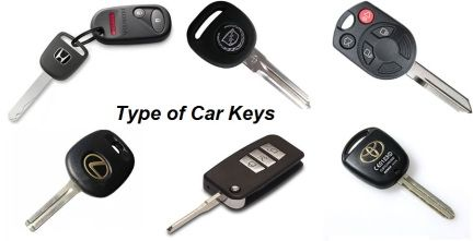 Learn about different types of Car Keys - It is important to understand the type of key you have in case something goes wrong, or you lose your car key.