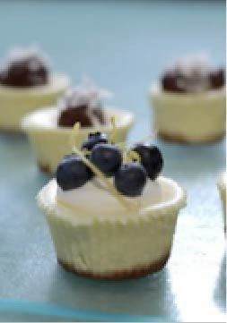 PHILADELPHIA Mini Cheesecakes – With just 20 minutes of prep, these individual cheesecakes are perfect for Easter!