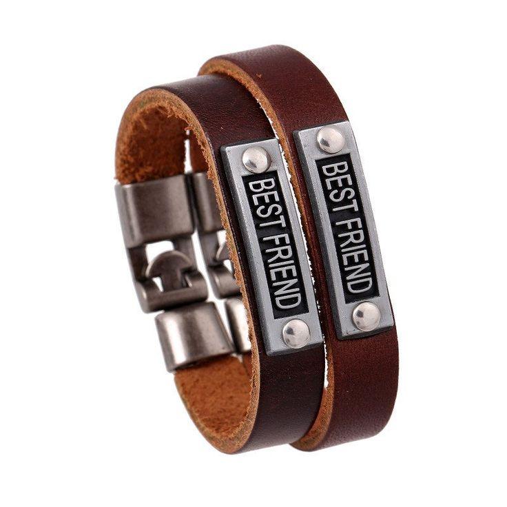 Bracelet Retro Leather for best friend