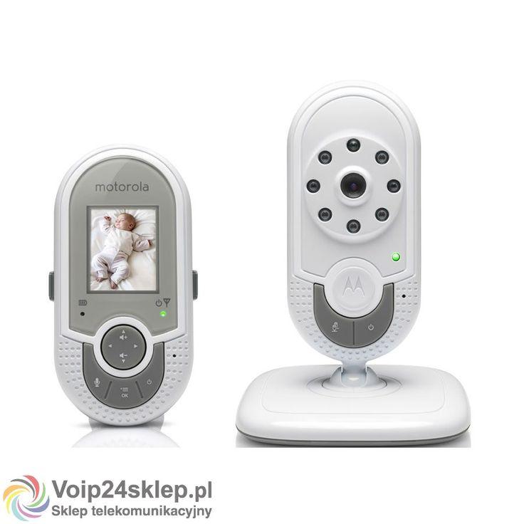 Elektroniczna niania Motorola MBP 621 #elektronicznaniania #Motorola #nianiawideo #babymonitor
