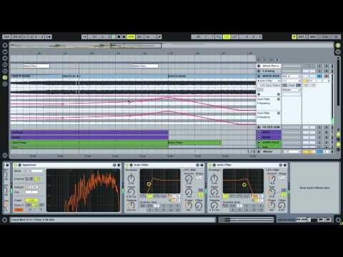 Ableton Live Tutorial - Auto Filter Techniques - YouTube