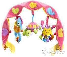 Детская музыкальная дуга Tiny Love с 3 игрушкамиподходит для детей с 3 месяцев. Игрушка стимулирует любопытство малыша, влияет на его развитие. Яркие цвета учат ребенка их различать. Дуга развивает детскую моторику. Нажимая на игрушку или ударяя по ней...