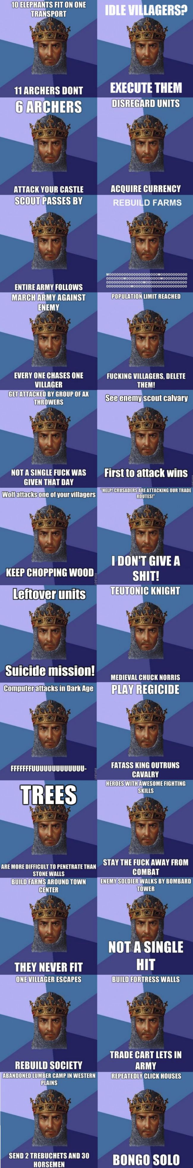 Oh my gosh, I remember this game... Age of Empires. Lol