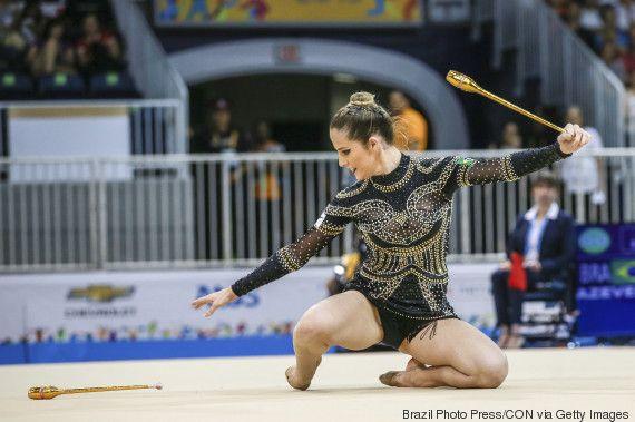 Quem é Natália Gaudio, nossa representante na ginástica rítmica no Rio 2016