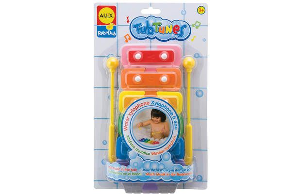 Alex Toys Water Xylophone: Real xylophone can float on the water or stick to tub walls. Detachable pieces can… #UKShopping #OnlineShopping