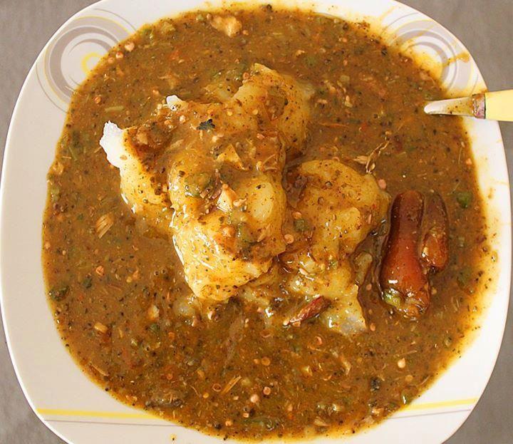 Sauce Gombo, Placali et Kplo - Ivorian Food