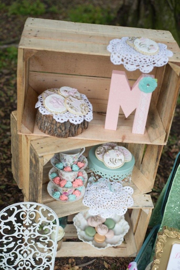 Rustic Chic Floral Mother's Day Party via Kara's Party Ideas   KarasPartyIdeas.com #rusticchicmothersdayparty (27)
