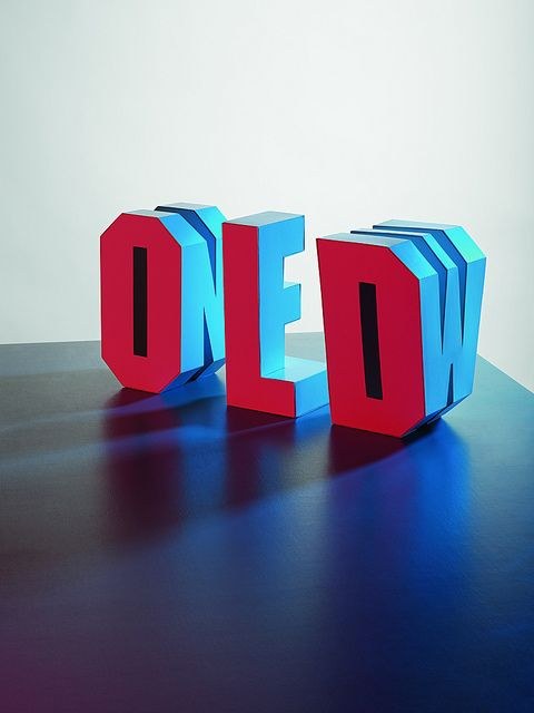 3D Typografieskulptur / Old & New / Eye magazine