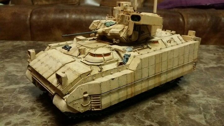M2A3 BRADLEY 1/35 MM Meng model-Made by Lee Juho