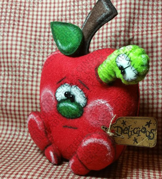 Food For Thought Pattern 218 Primitive Doll by GingerberryCreek