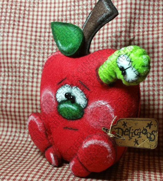 Food For Thought patrón 218  patrón de muñeca por GingerberryCreek