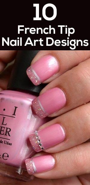 Manicure francesa rosa