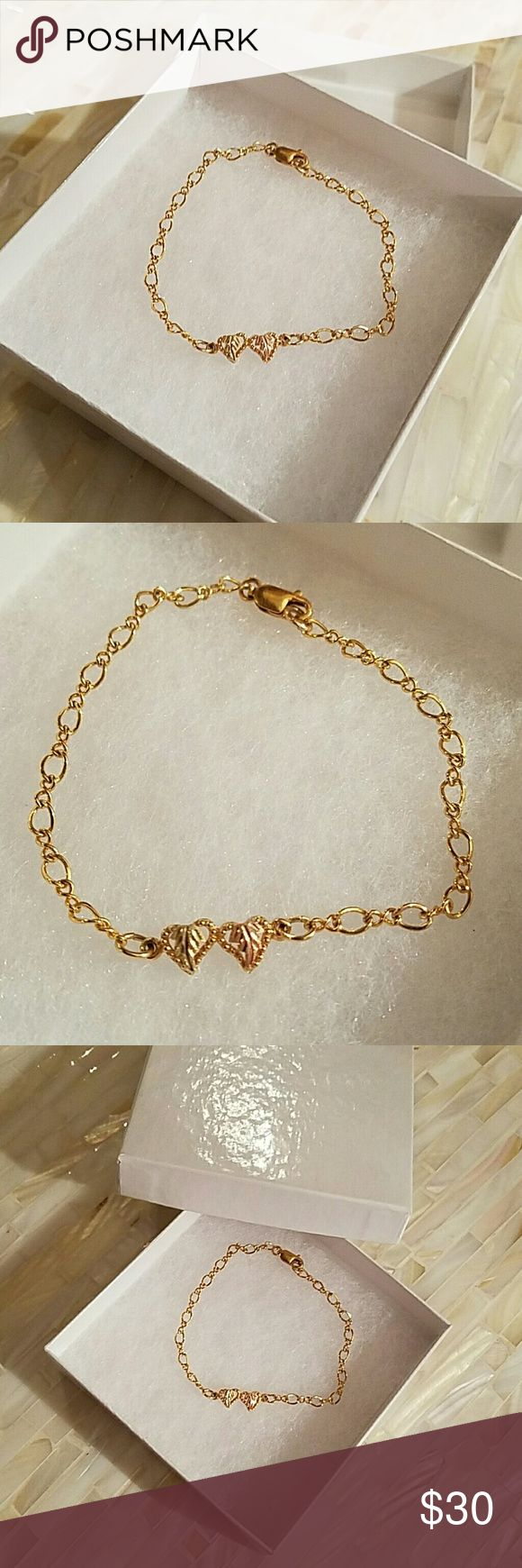 Black hills gold bracelet Blackhills gold bracelet, worn only a few times. Is in excellent condition Jewelry Bracelets