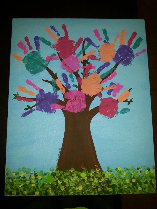 Quot Friendship Tree Quot Preschool Collaborative Art Tree