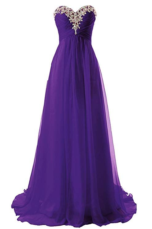 7ffd6324d6f JAEDEN Prom Dress Bridesmaid Dresses Long Chiffon Formal Evening Gown A  line at Amazon Women s Clothing