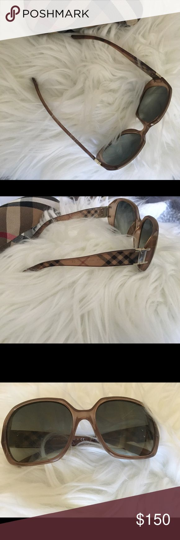 Used Burberry sunglasses Used Burberry sunglasses I have other items listed in my closet. If you're interested in this, you might be interested in something else I have up. Check it out. :) Happy shopping! Burberry Accessories Sunglasses