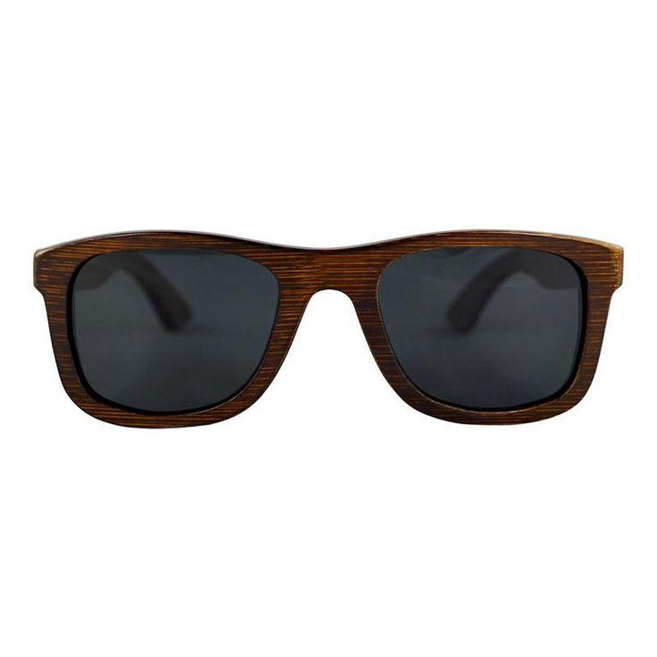 """Ξύλινα Γυαλιά Ηλίου Wayfarers """"SAGA"""" Brown   €99.90"""