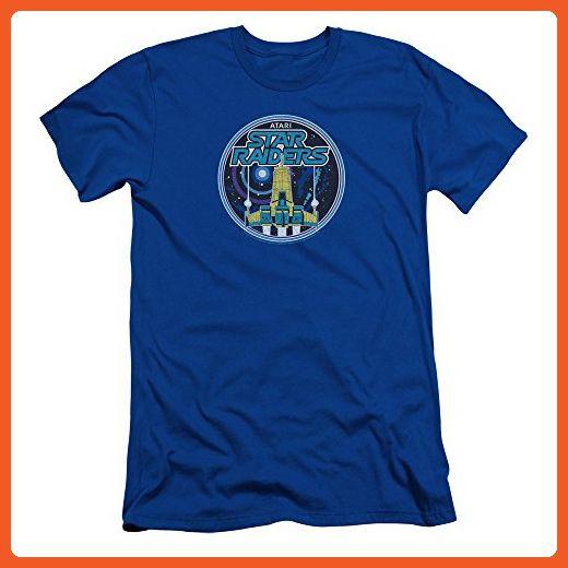 Atari Video Games Star Raiders Game Patch Adult Slim T-Shirt Tee - Gamer shirts (*Partner-Link)