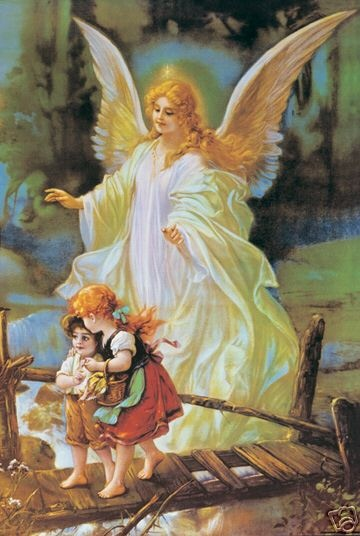 I've always loved this picture.  Guardian Angel