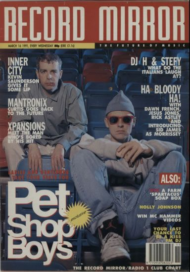 Pet Shop Boys, Record Mirror, UK, Deleted, magazine, , MARCH 1991, 607597