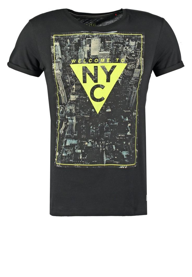 edc by Esprit Camiseta print - black - Zalando.es