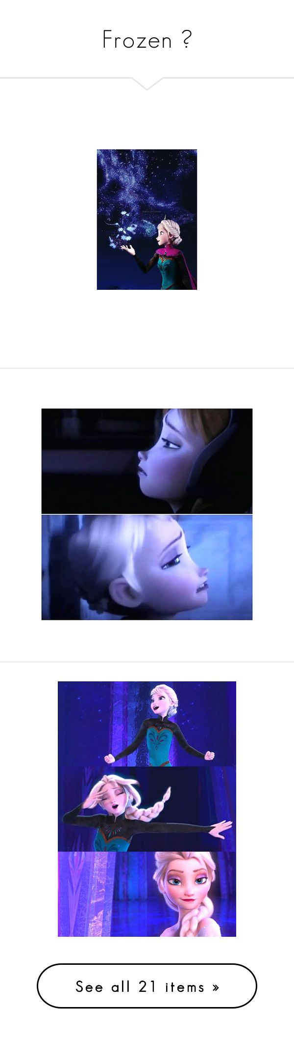 """Frozen ♥"" by starstruck4ever ❤ liked on Polyvore featuring disney, frozen, elsa, pictures, backgrounds, costumes, icon pictures, disney icons, snow queen costume and pics"