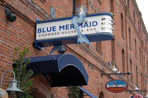 Blue Mermaid Restaurant...Best Clam Chowder in San Francisco!