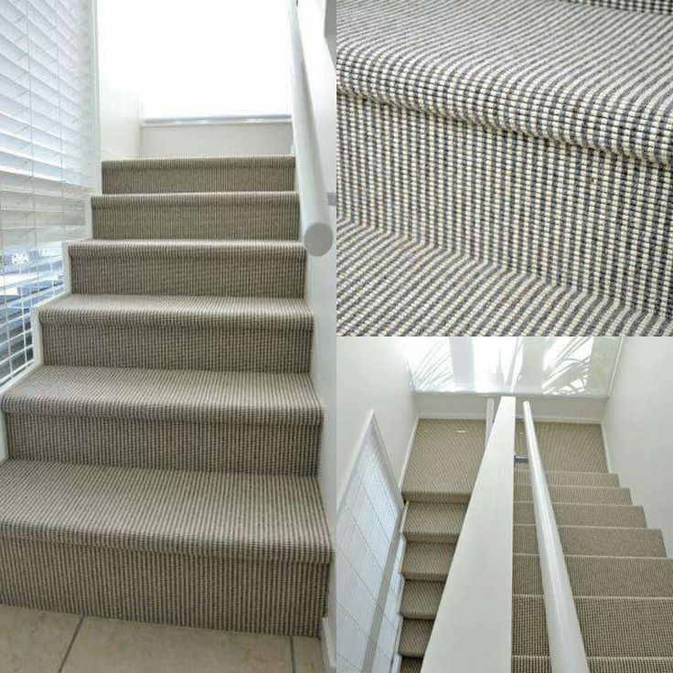 Love a smart looking stairway?  Shetland Duo a fantastic looking flat weave wool carpet will achieve just that. #designstyle #homedesign #shetlandduo #carpet #stairway #flatweave
