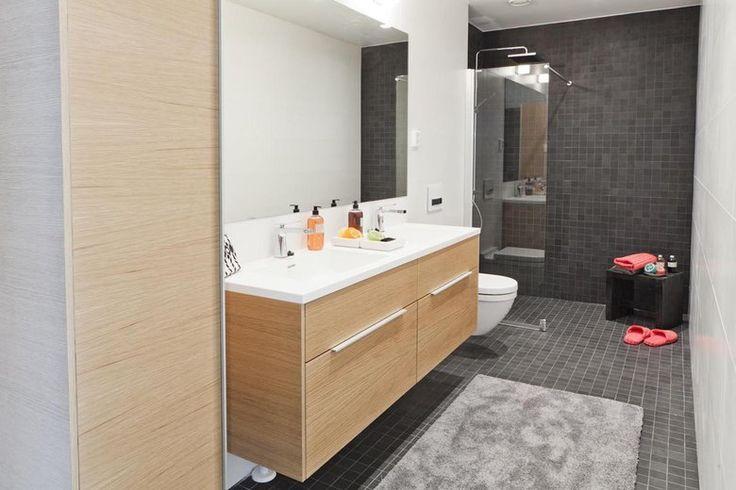 Kylpyhuoneessa on tilaa koko perheelle, lisää ideoita www.lammi-kivitalot.fi