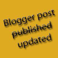 Afficher la date réelle de la dernière modification des messages |   Par défaut dans les modèles, Blogger propose d'afficher la date de publication des messages. C... | Auteur : @Soraya Lambrechts | En savoir plus : http://bloggercode-blogconnexion.blogspot.com/2013/03/blogger-post-update.html
