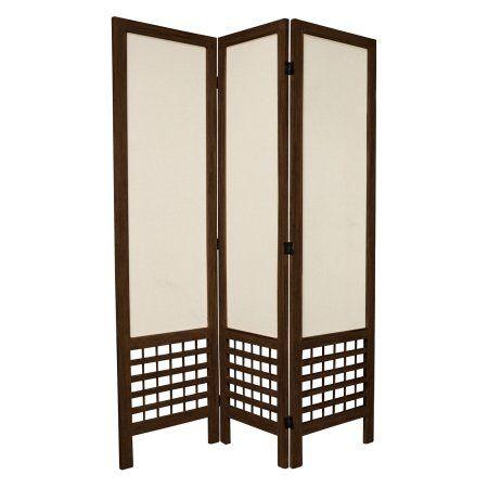 Oriental Furniture 5.5 ft. Open Lattice Room Divider, Multicolor