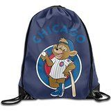 AK79 Large Capacity Chicago Baseball Bear Logo Cinch Pack White >>> You can find more details by visiting the image link.