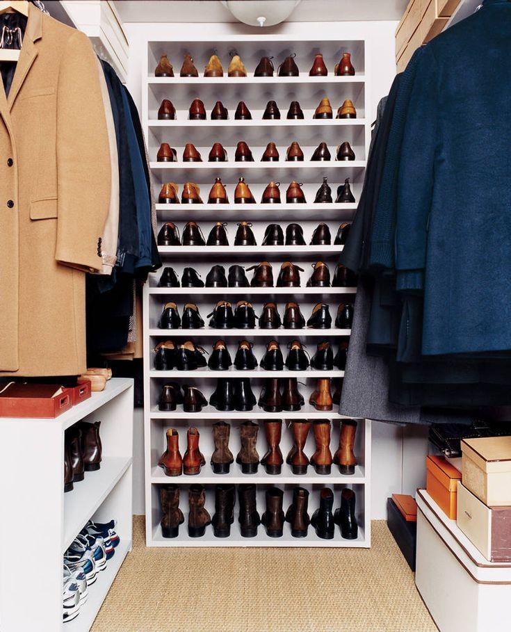 Mens Shoe Closet 87 best men's closet organization images on pinterest | dresser