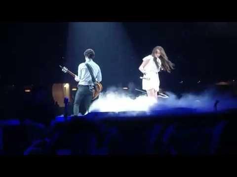 Jonas Brothers - Before the Storm- ft. Miley Cyrus / Nick Jonas LIVE! MU...