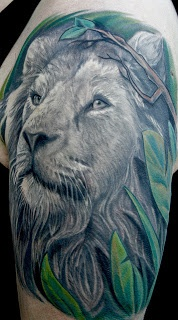 Lion Tattoo Designs For Girls ~ Absolutely love this!
