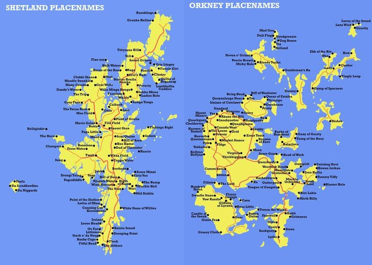 Shetland and Orkney Islands - odd, strange and hilarious ...
